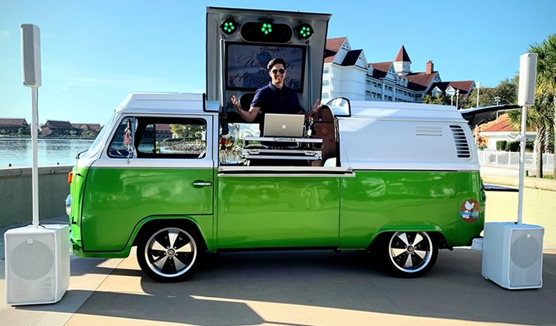 Mix on Wheels DJ Vehicles